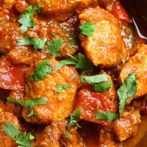 Fitness Essen bestellen - Chicken mit Gemüse-Dhal