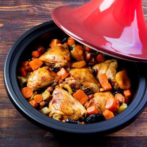prep my meal - Harissa-Hähnchen aus dem Ofen mit Gemüse