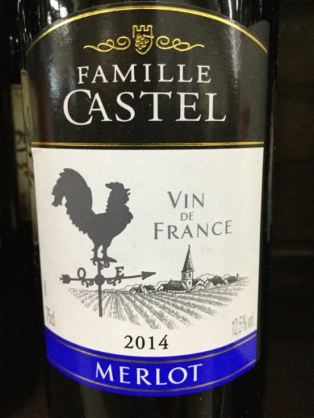Famille Castel Merlot 2014 France Delivered | YourGrocer