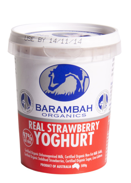 Organic Lactose Free Strawberry Yoghurt Delivered | YourGrocer
