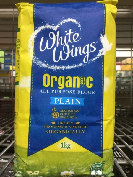 White Wings Organic All Purpose Flour Plain Delivered Yourgrocer