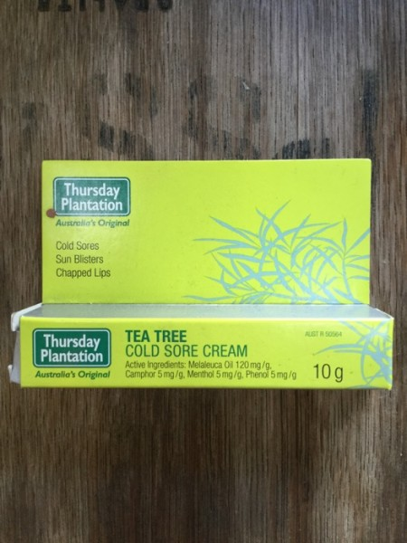 Tea Tree Cold Sore Cream Delivered | YourGrocer