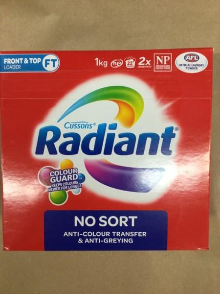 Radiant No Sort Laundry Powder Delivered | YourGrocer