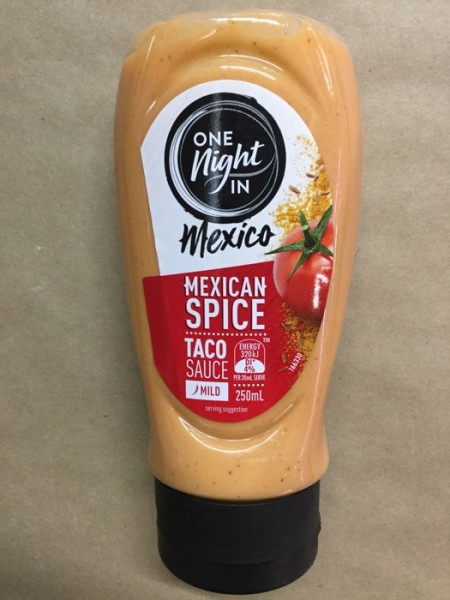 Mexican Spice Mild Taco Sauce Delivered Yourgrocer