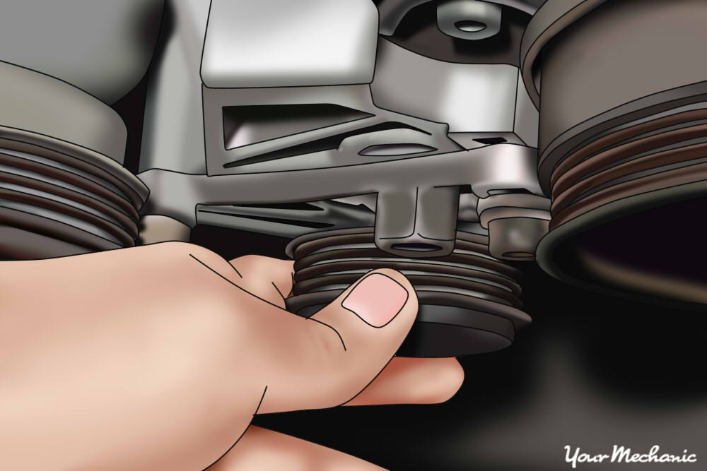How to Replace an Air Injection Pump Belt 10