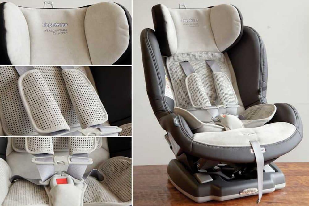 Peg Perego Primo Viaggio Leather Convertible Car Seat