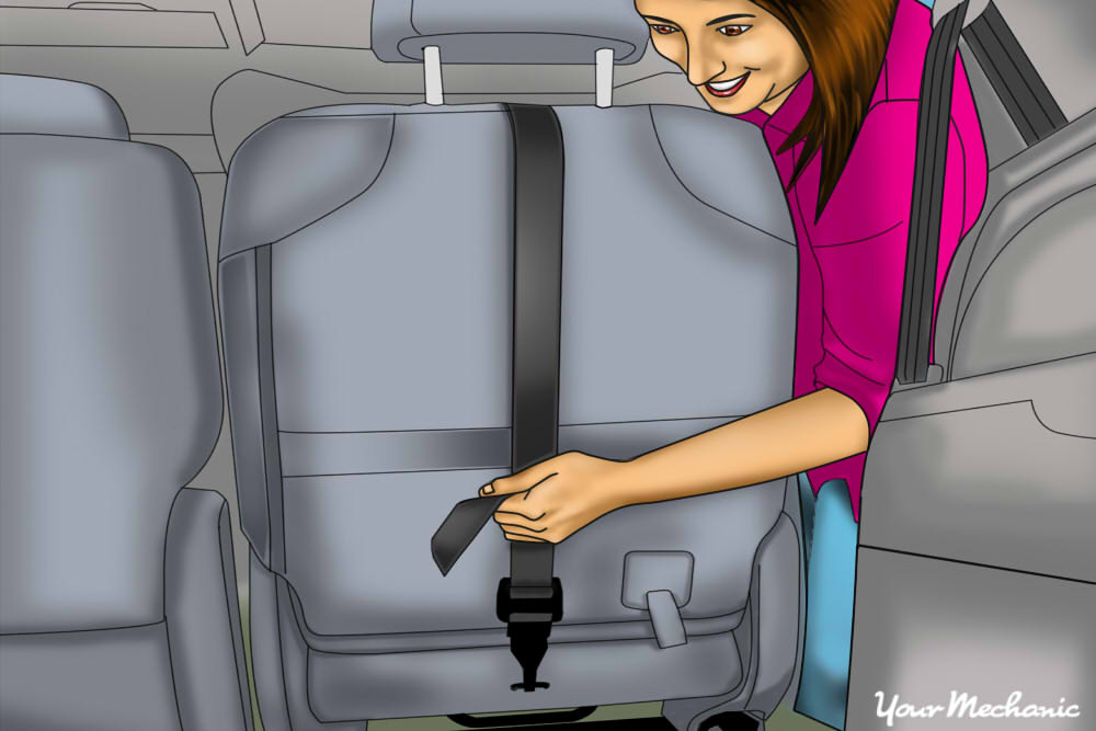 How to Anchor a Child Safety Seat - 11