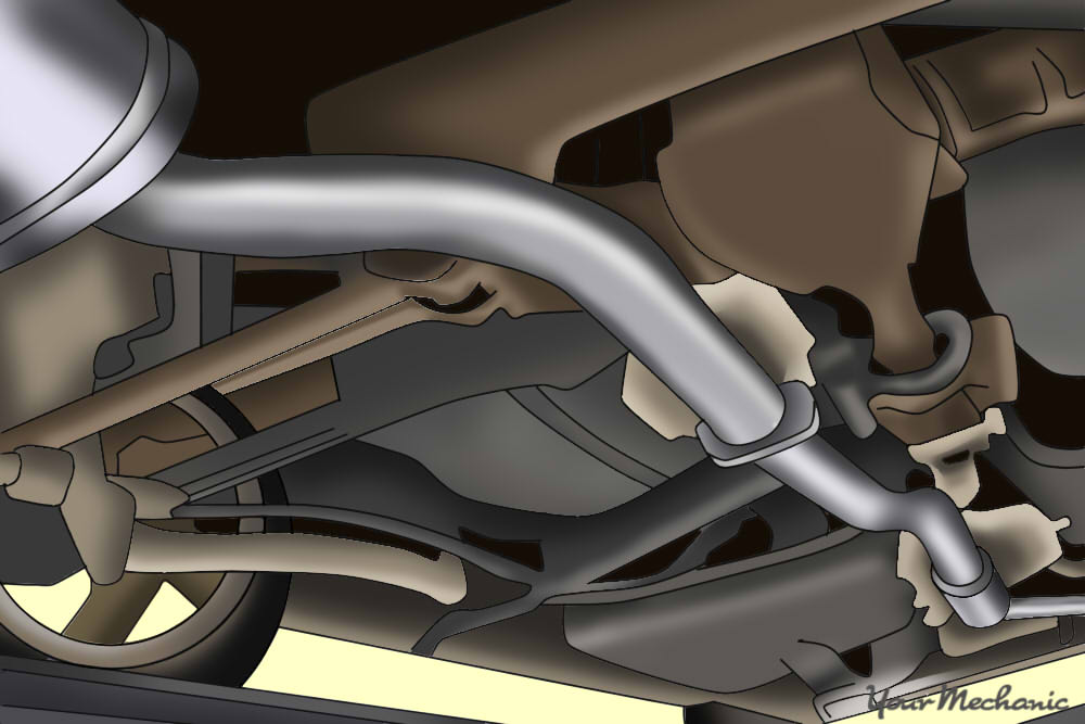 completed exhaust system