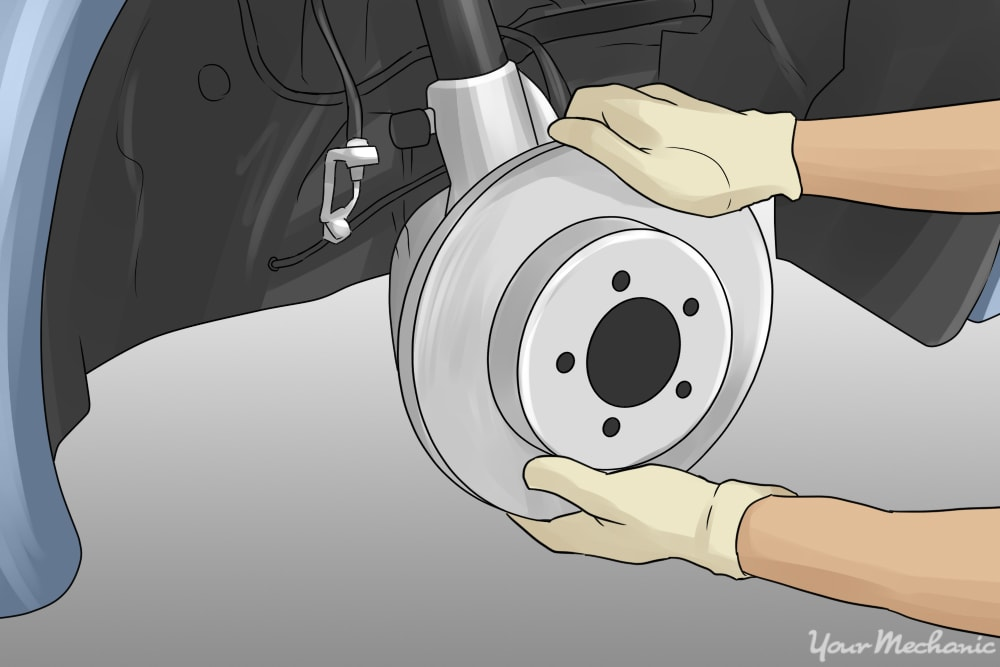 installing new rotor