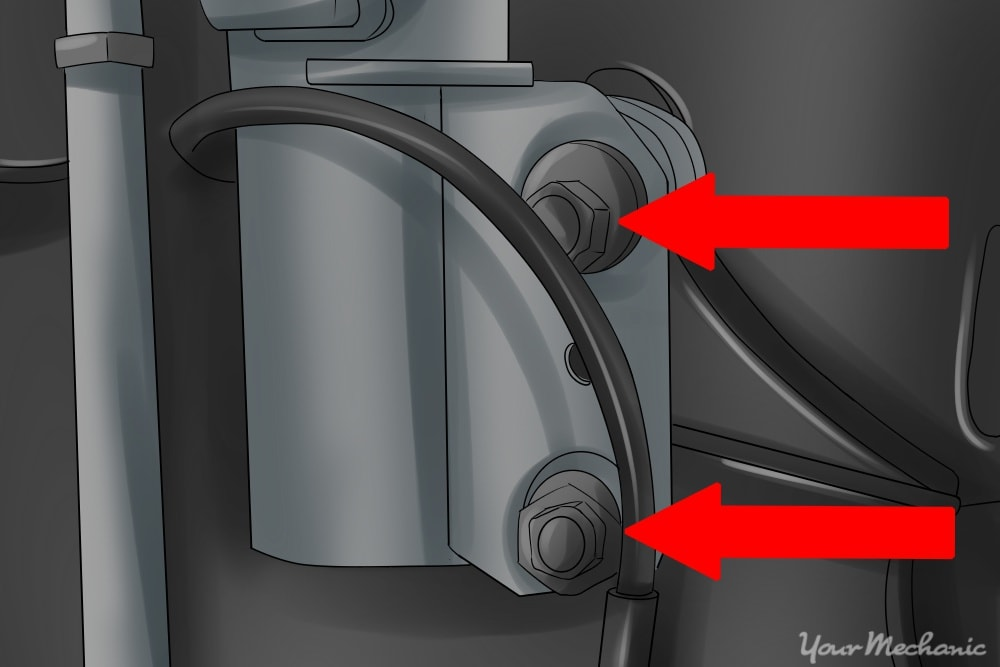 image showing bolts mounted to knuckle