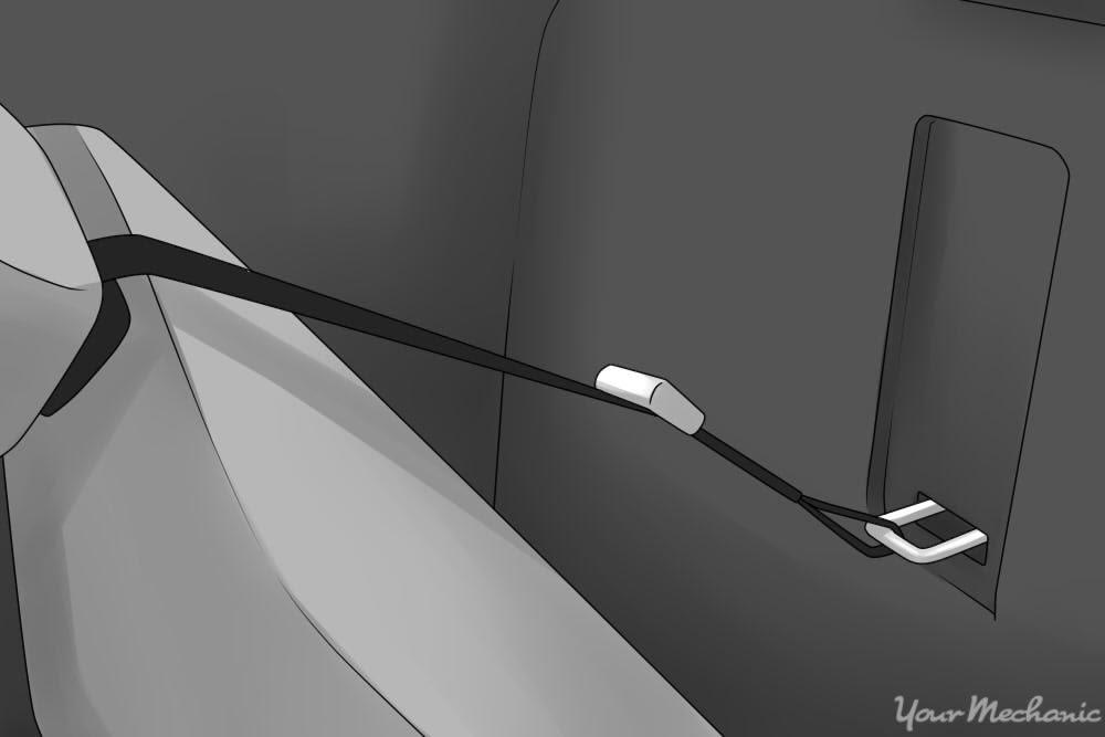 handle for adjusting seats