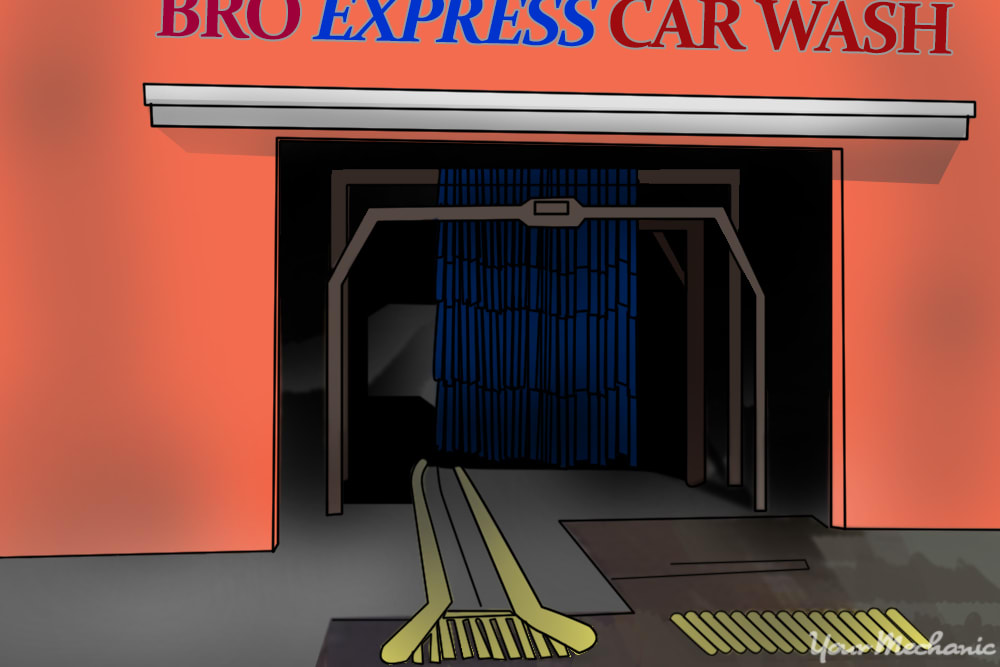 Gas Station With Drive Thru Car Wash >> How To Use A Gas Station Car Wash Yourmechanic Advice