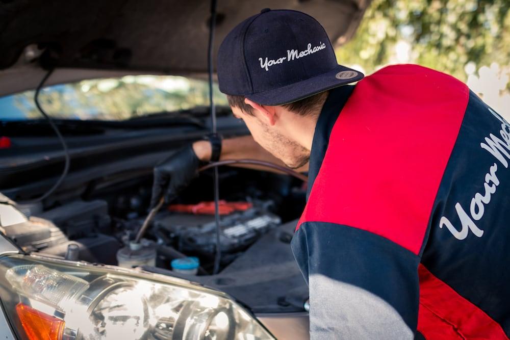 removing power steering fluid