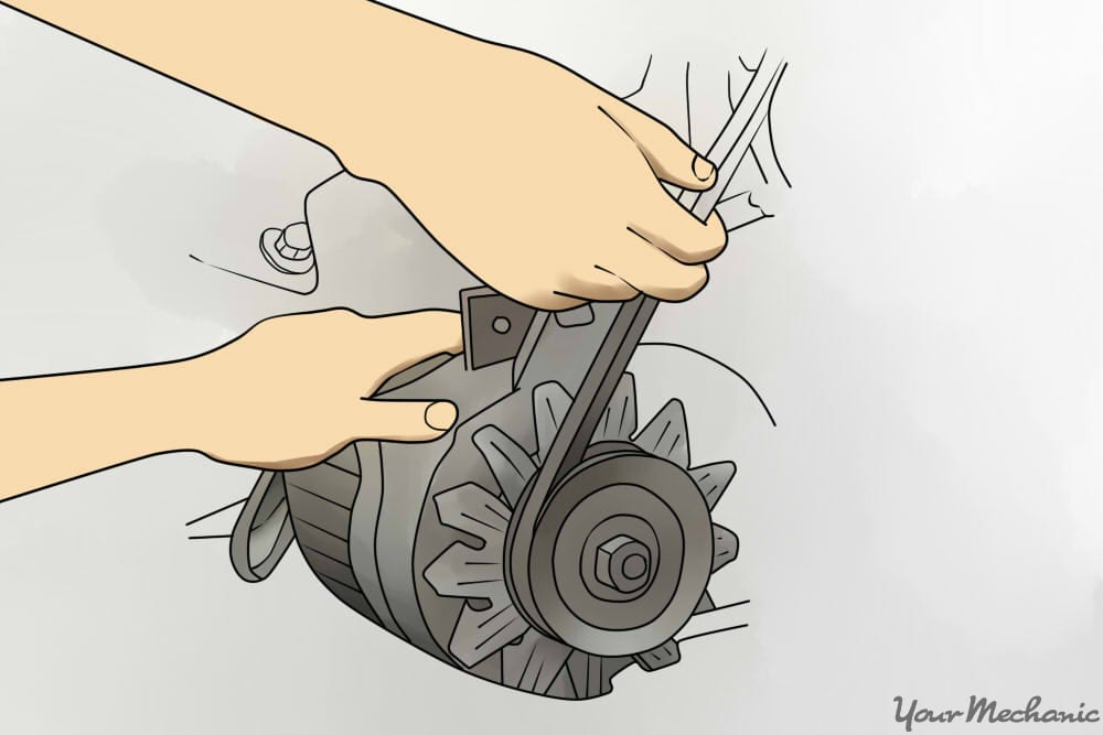 How to Replace an Air Conditioning Belt 14