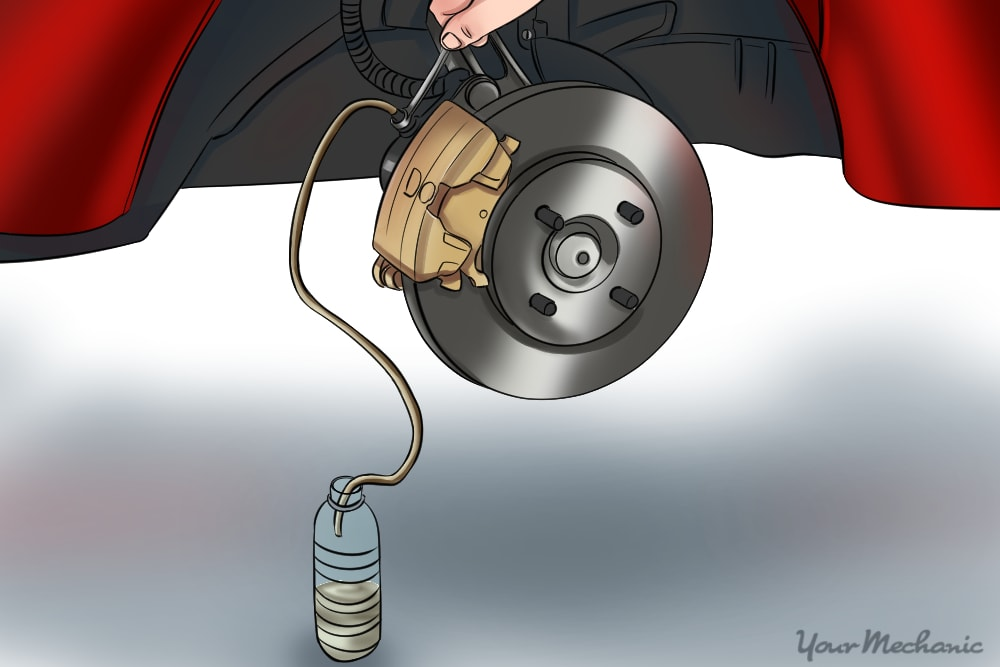 How To Bleed Brake Lines >> How To Bleed Car Brakes Yourmechanic Advice