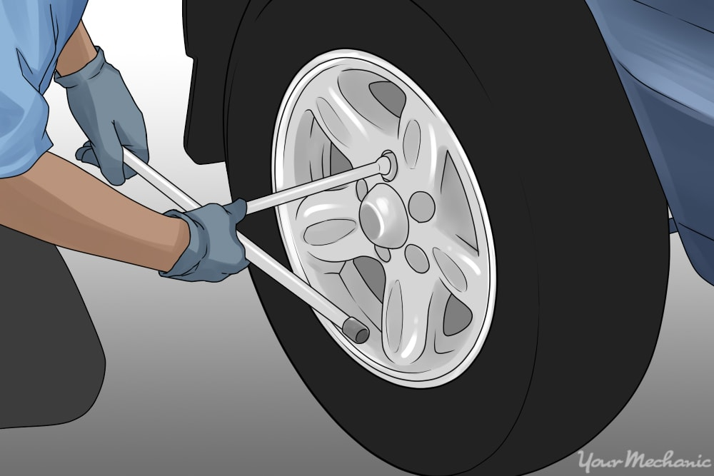 putting wheel back on
