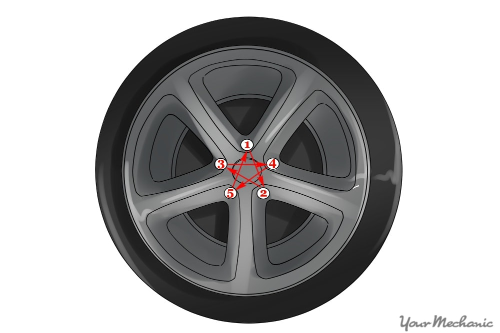 star pattern for lug nuts