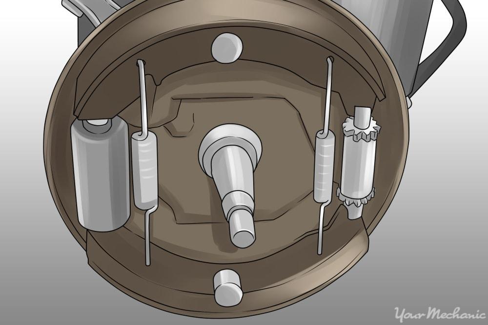 How to Adjust a Parking Brake Shoe | YourMechanic Advice
