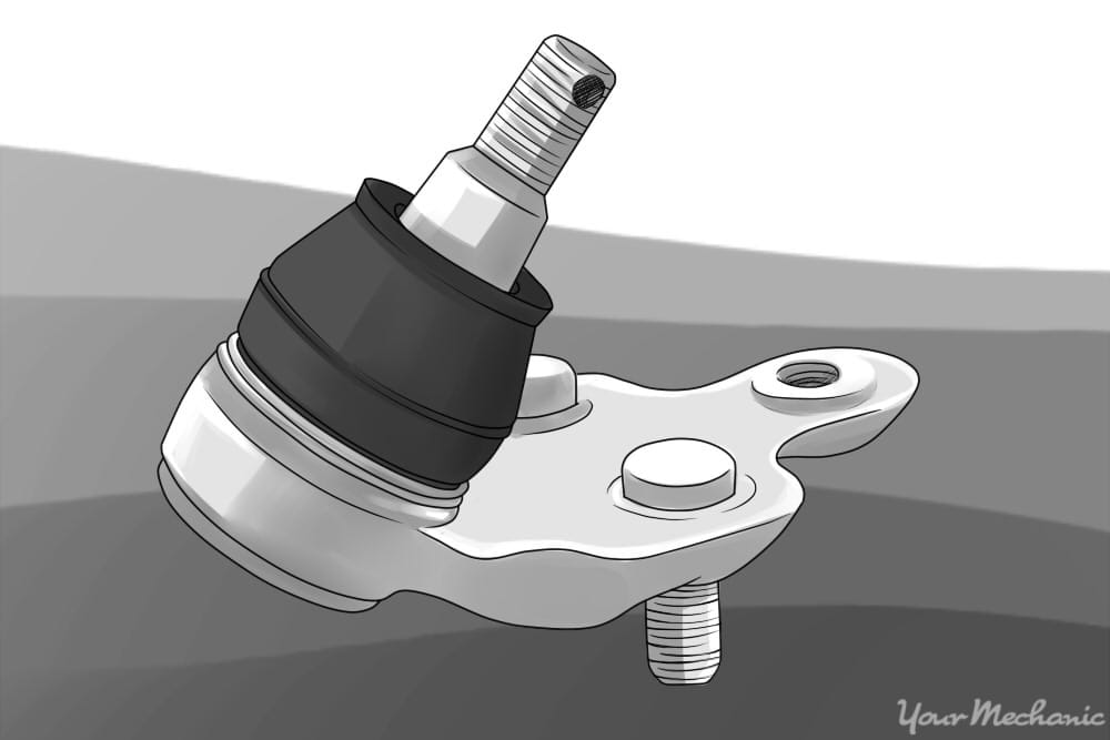 How to Check Suspension Ball Joints | YourMechanic Advice