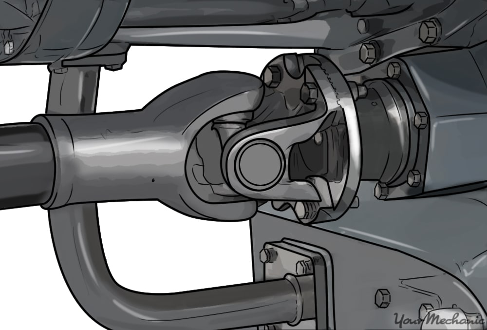 How to Replace a Worn Out U-Joint | YourMechanic Advice