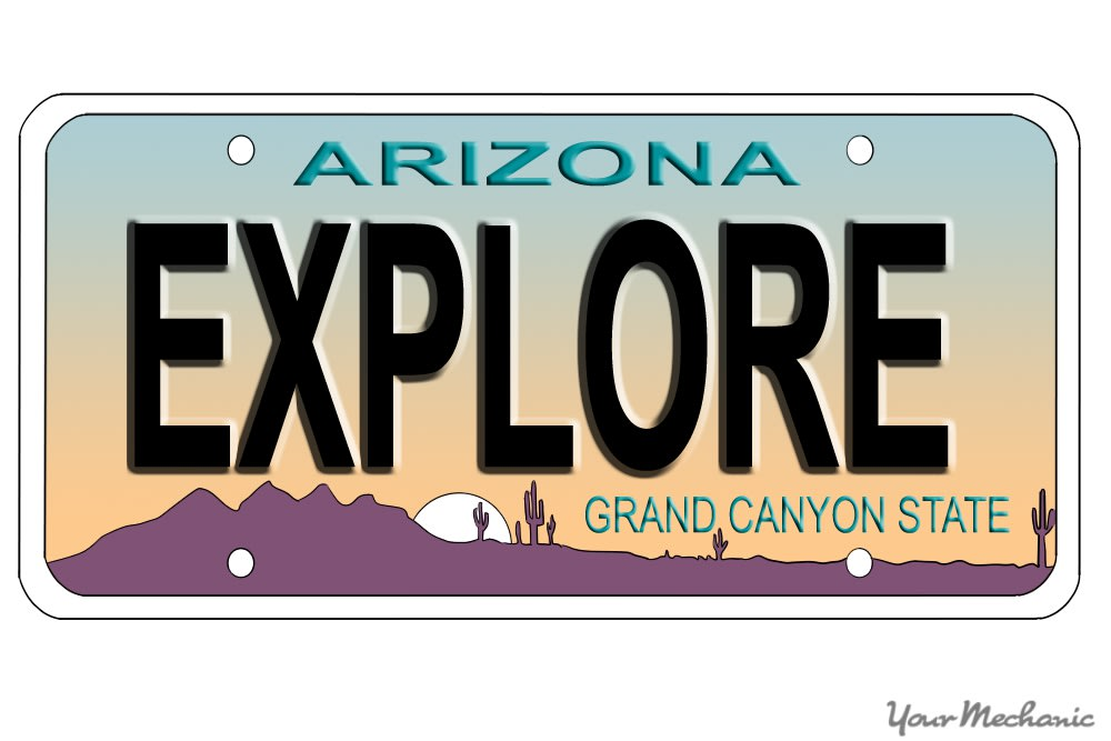 How to Buy a Personalized License Plate in Arizona