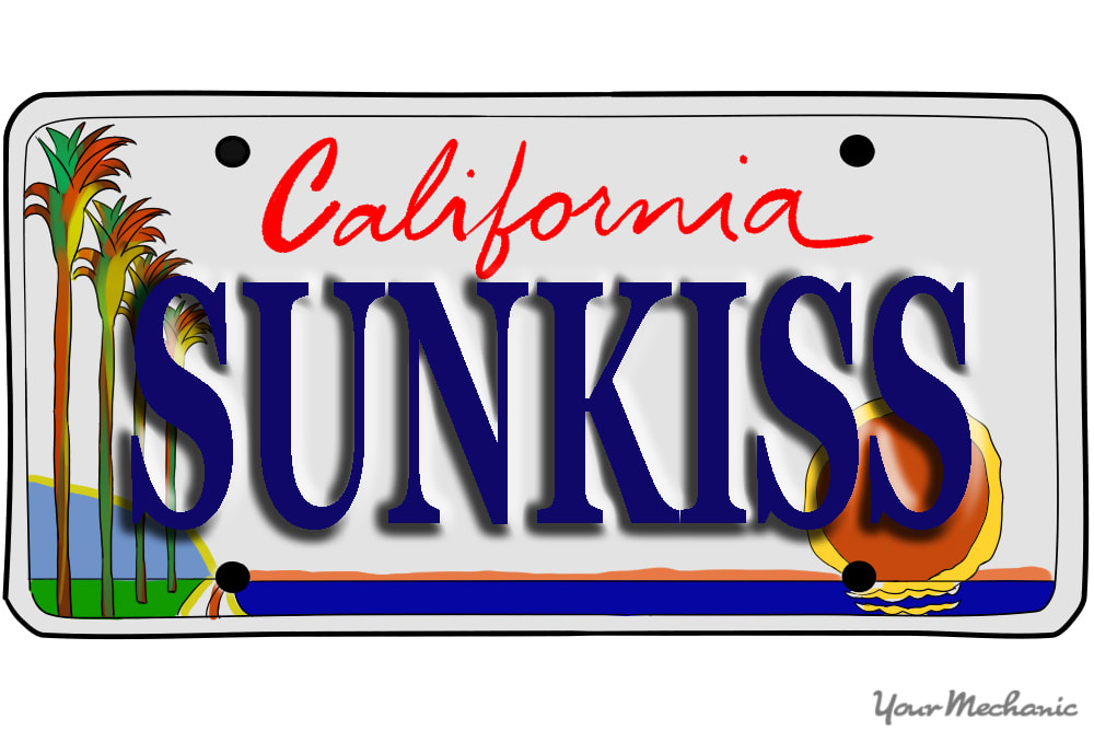 How to Buy a Personalized License Plate in California