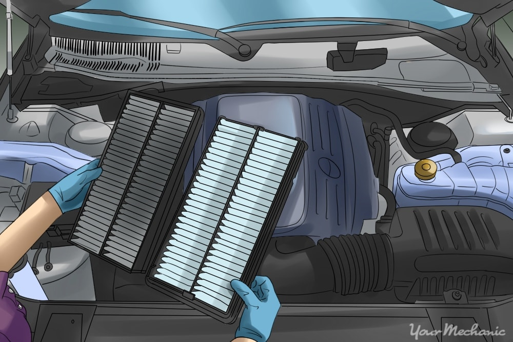 Top 3 Reasons Engine Oil Gets in the Air Filter