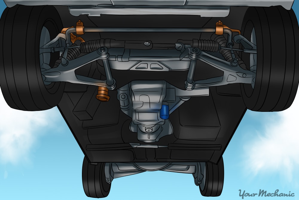2010 Ford Fusion Front End Parts Diagram