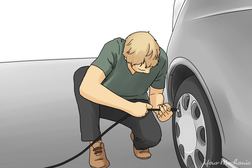 How To Put Air In Your Car Tires Yourmechanic Advice