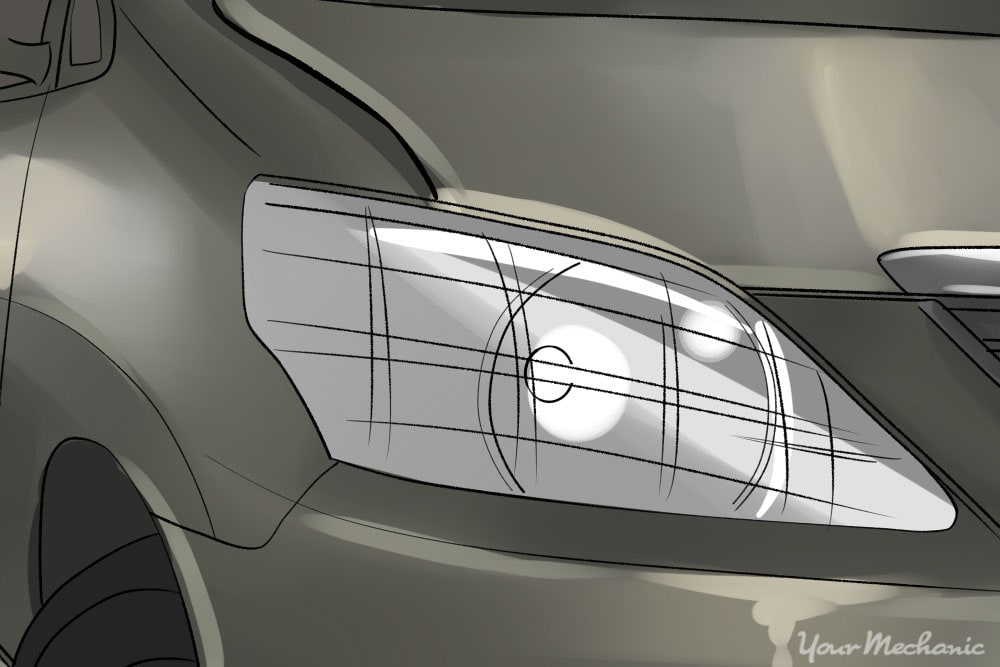 How to Clean Oxidized Headlights | YourMechanic Advice