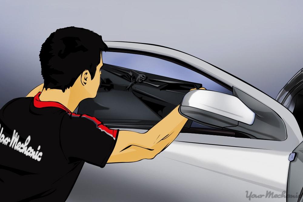 How to Repair Window Tinting   YourMechanic Advice
