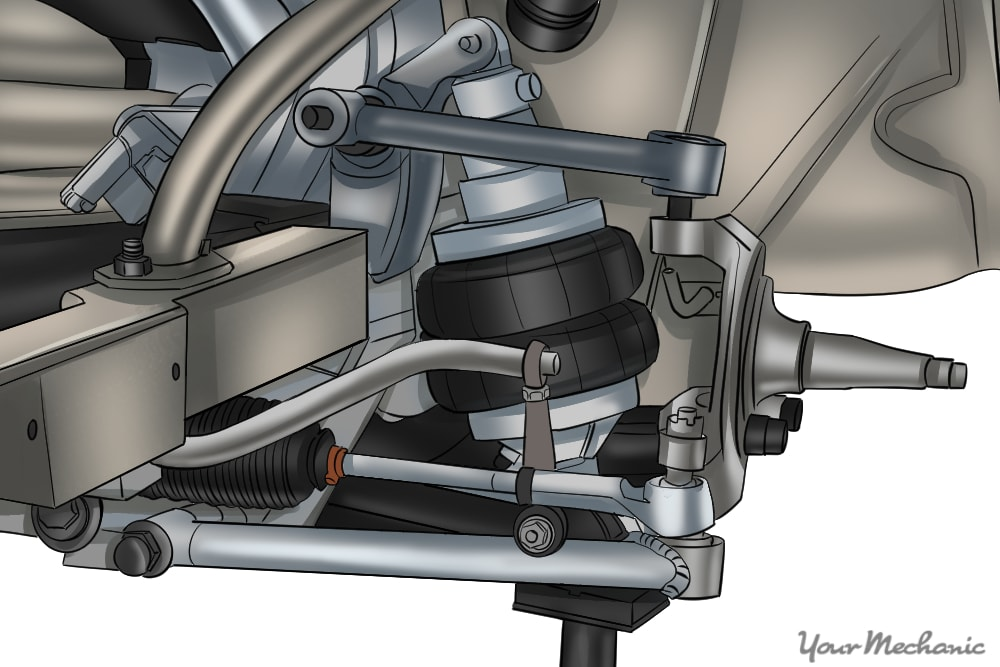 How to Install Air Ride Suspension | YourMechanic Advice
