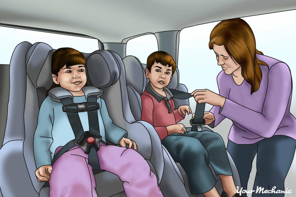 Child From Unlocking Seat Belts, Kids Car Seat Belt