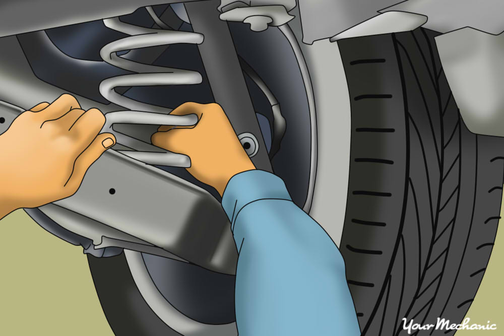 How to Lower a Vehicle's Suspension | YourMechanic Advice