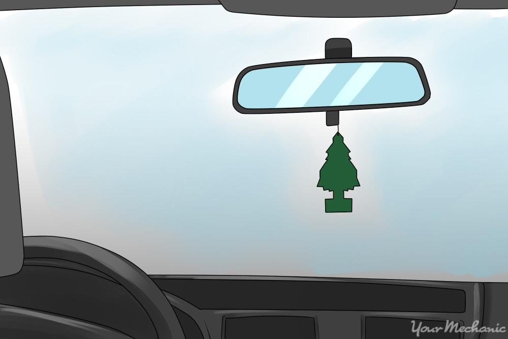 air freshener hanging