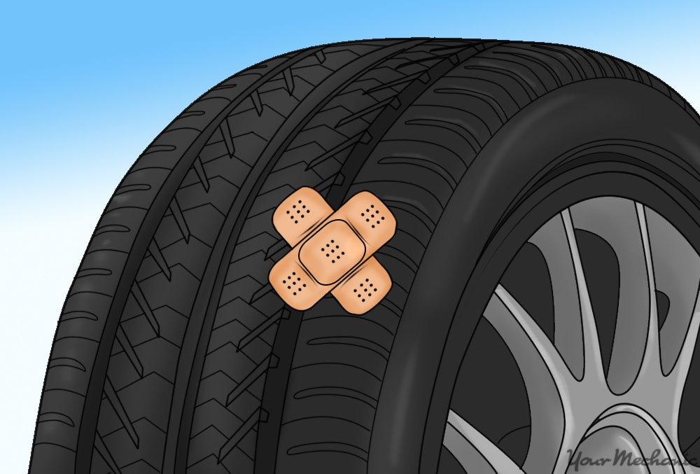 Tire Patch Cost >> How To Put A Patch On A Punctured Tire Yourmechanic Advice