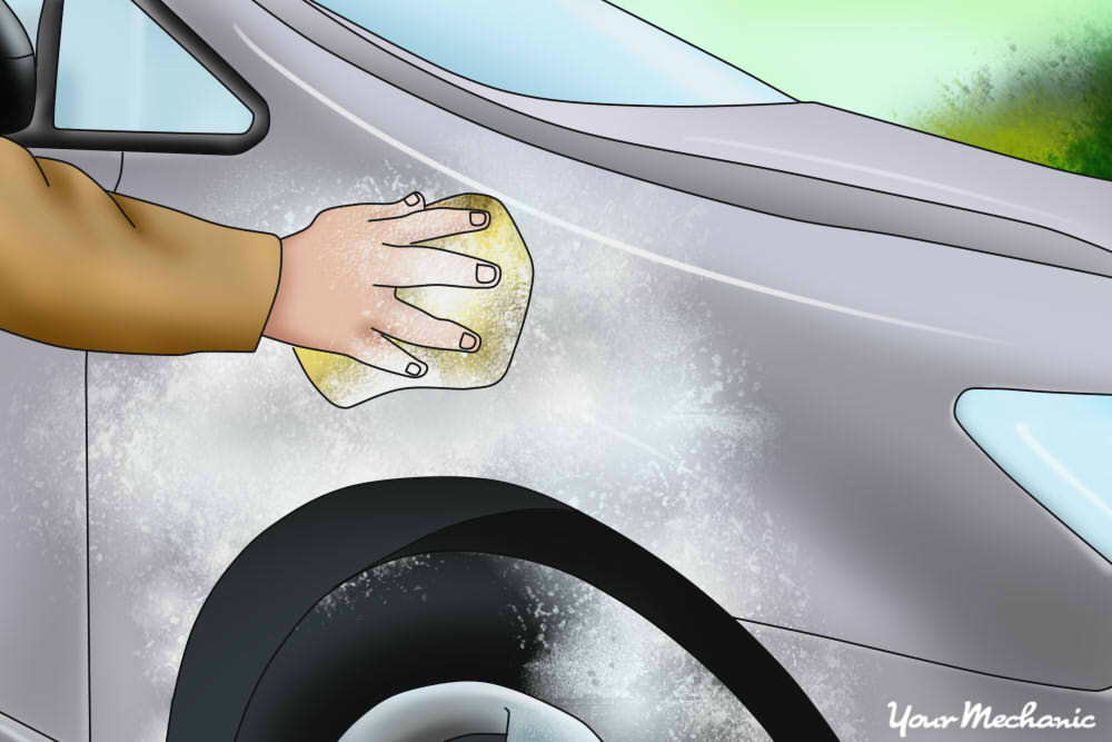 How to Remove Egg Stains From Your Car's Paint Job