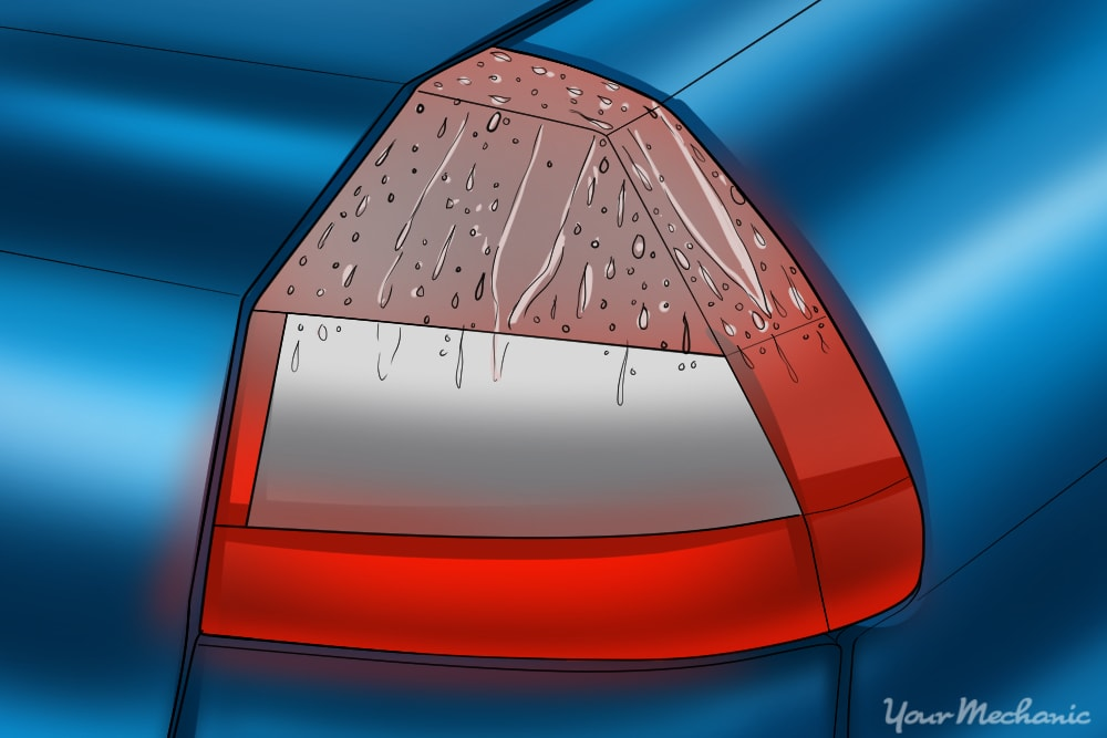 Car Tail Lights >> How To Remove Water From A Tail Light Yourmechanic Advice
