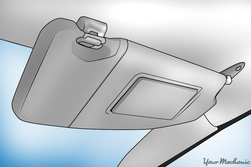 How to Remove and Replace a Vehicle's Sun Visor
