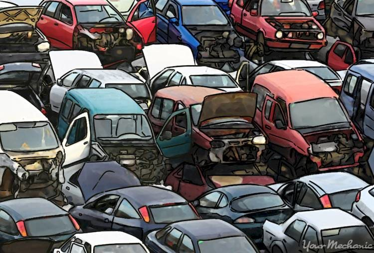 Used Auto Parts Phoenix >> How To Find Replacement Car Parts At A Junkyard