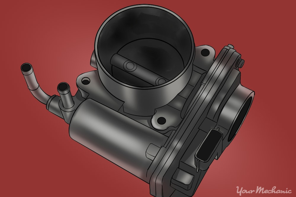 How to Replace a Throttle Body Due to Carbon Build-Up on