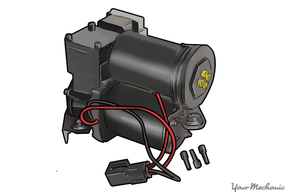 How to Replace an Air Suspension Air Compressor