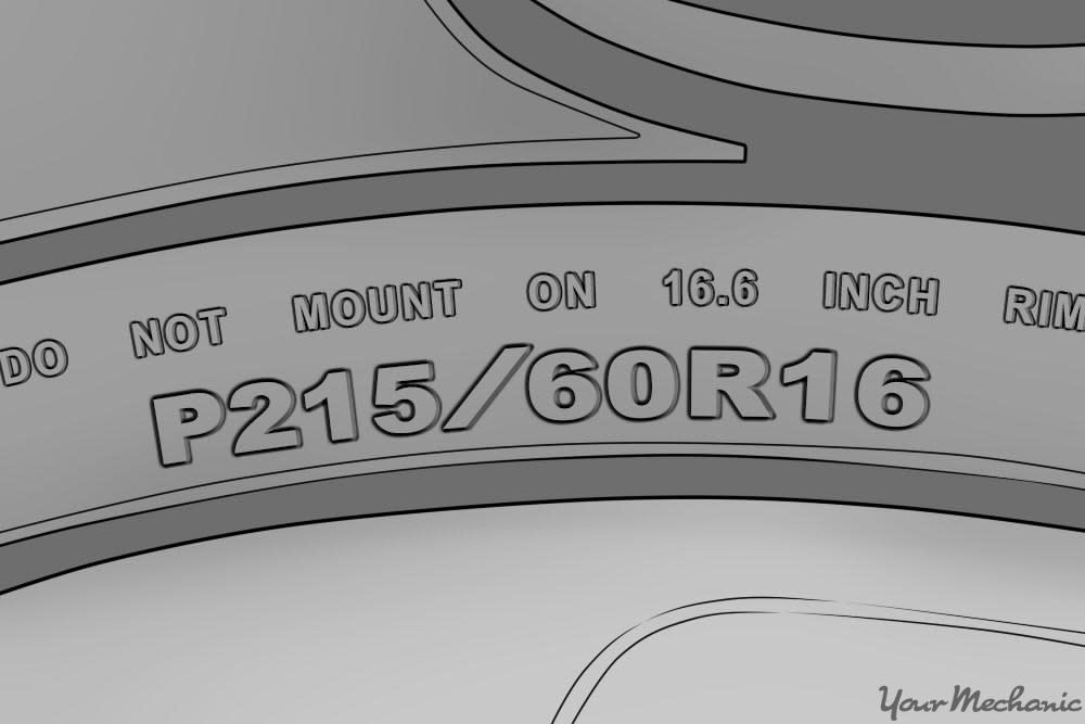 Tire Size Numbers >> How To Read Car Tire Size Yourmechanic Advice