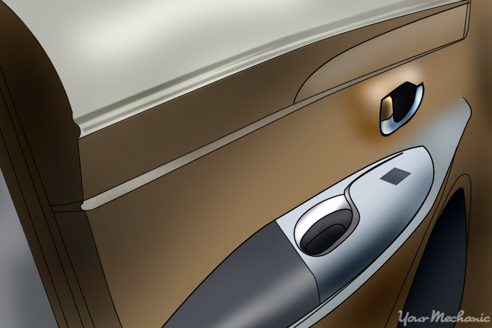 How To Replace An Interior Car Door Handle Yourmechanic Advice