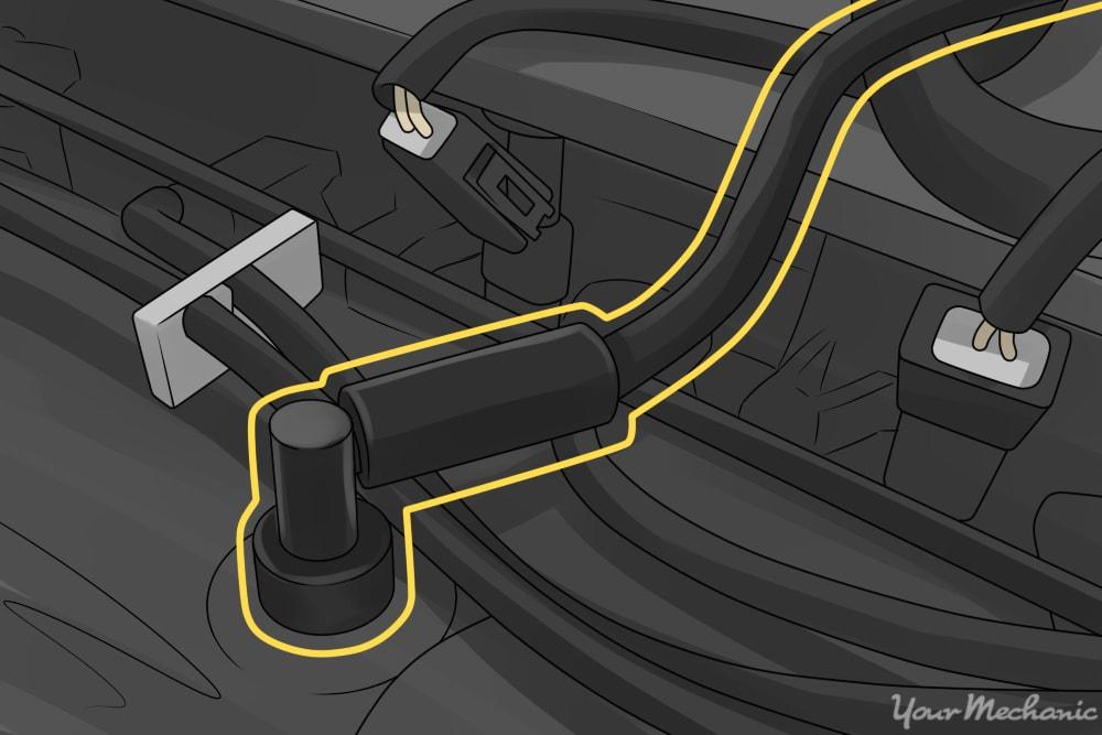 How to Replace a PCV Valve Hose | YourMechanic Advice