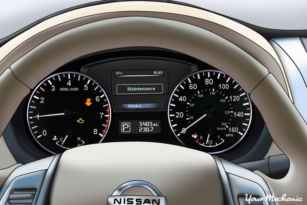 Understanding Nissan Service Indicator Lights | YourMechanic