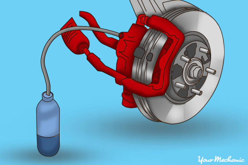 how to change a brake caliper 22
