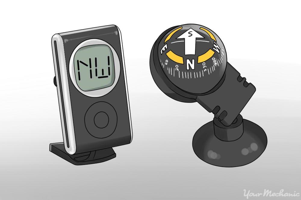 comparing digital vs traditional compass