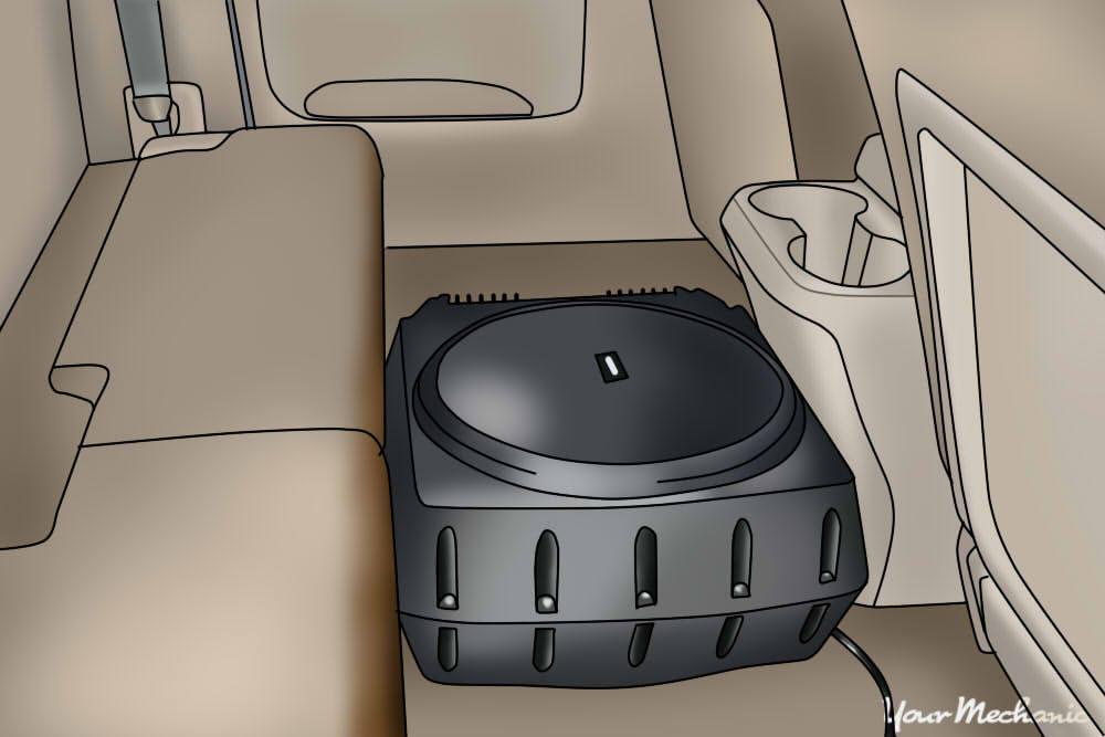 subwoofer in car