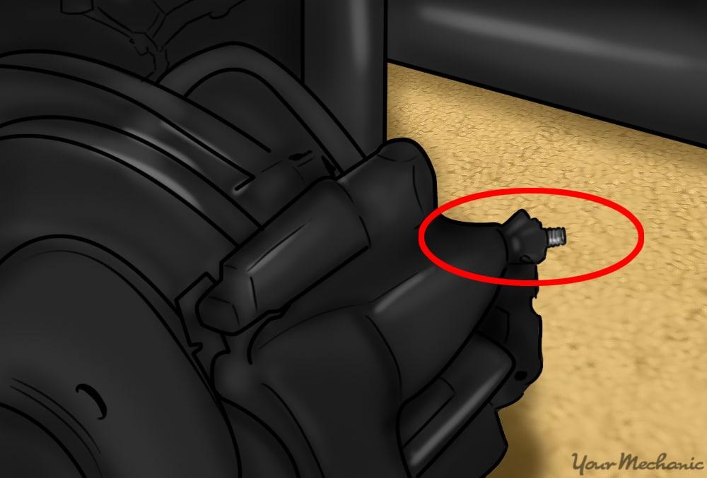 brake bleeder screw